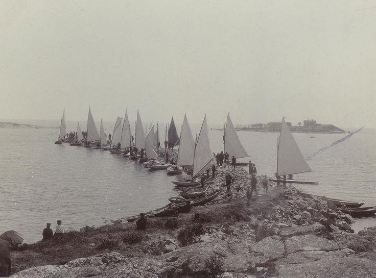 Sandholmen circa 1900