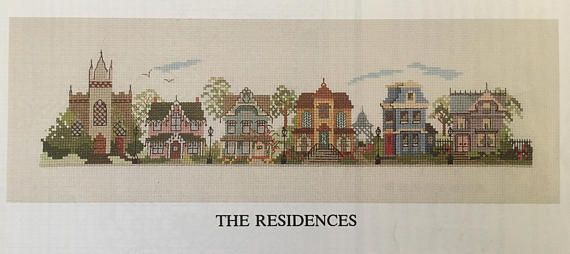 Victorian Street Scenes: The Residences and The Businesses Judith M. Kirby Number 104 1995 SIGNED BY THE DESIGNER Black/white charts Contents Include: - Businesses: Train Depot, Pharmacy, Grocery, Hat & Glove Shop, Barber Shop, Fire Station, Park, Cafe, Milliner Shop, Hotel