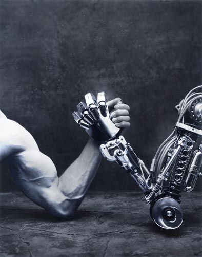 Man versus Machine....do you really think machines will ever outsmart us?