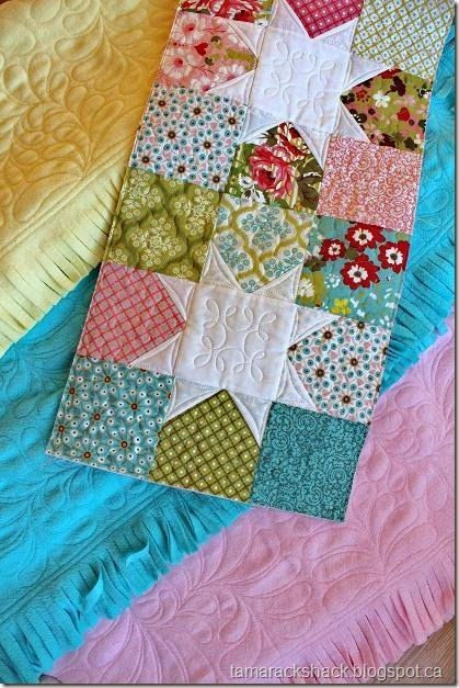Jelly roll quilt tutorial