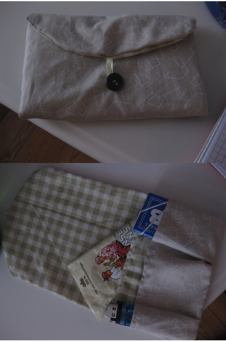 DIY: Tabaktasche / tobacco purse