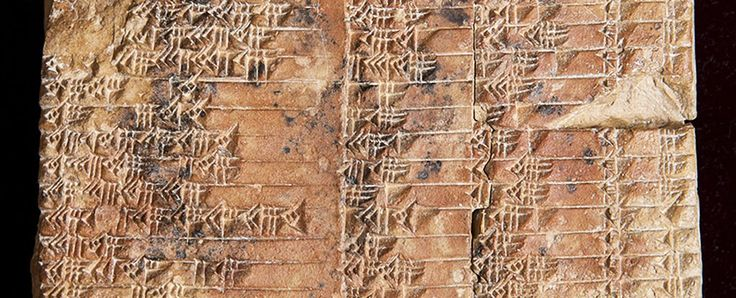 A Babylonian clay tablet dating back 3,700 years has been identified as the world's oldest and most accurate trigonometric table, suggesting the Babylonians beat the ancient Greeks to the invention of trigonometry by over 1,000 years.