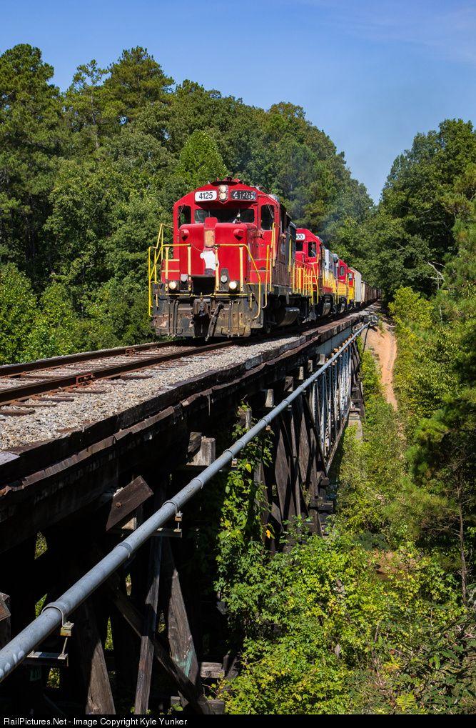 RailPictures.Net Photo: GNRR 4125 Georgia Northeastern EMD GP20 at Woodstock, Georgia by Kyle Yunker