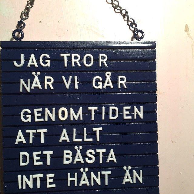 """""""Favorit i (ständig) repris #HH #håkanhellström #trapphustavla"""""""