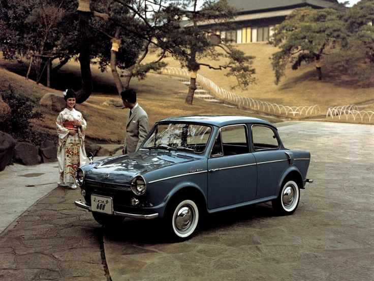 Mitsubishi Colt 600 Sedan - 1962