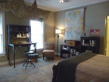 Military Bedroom Design Ideas...  BDF