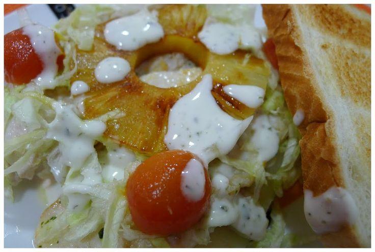 SANDWICH HAWAIANO Y 300 SEGUIDORES,GRACIAS!! | Cocina