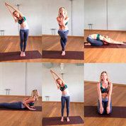 6 easy yoga poses for new mums | Fitness