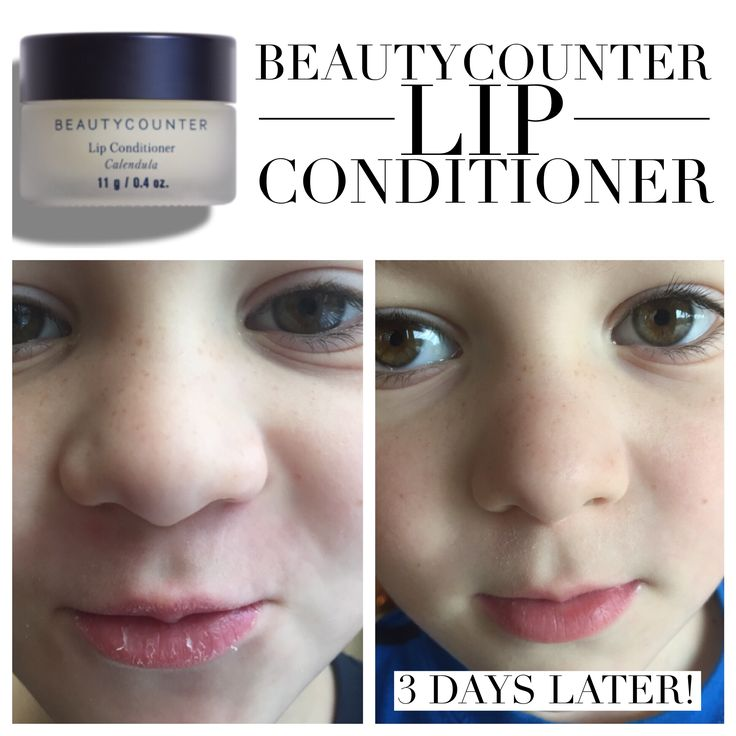 The lip conditioner works wonders and best of all, is completely SAFE for your lips & those you love....even kids!