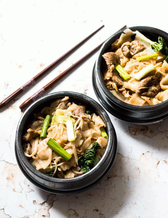 Healthy Been Chow Fun Recipe