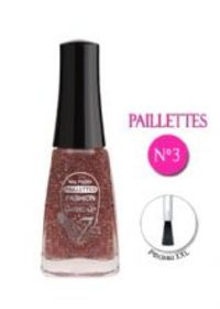 VERNIS A ONGLES PAILLETE MULTICOLOR N°03 FASHION MAKE UP