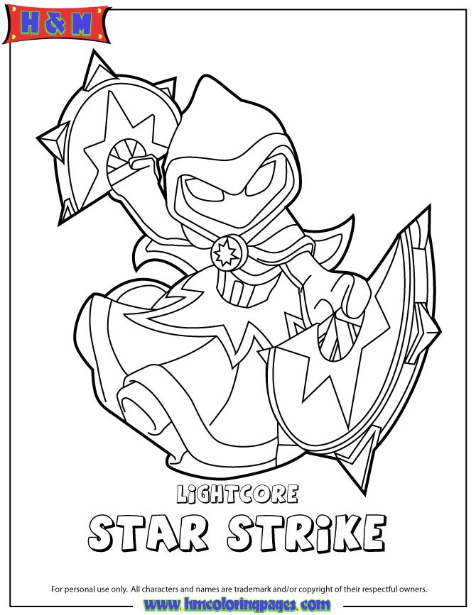 Modern Free Skylander Coloring Pages Frieze - Coloring Ideas ...