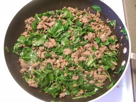 Sausage and Spinach Casserole | Grain-free | Pinterest