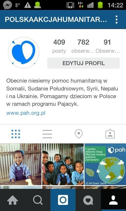 Śledź nas na Instagramie! https://www.instagram.com/polskaakcjahumanitarna/