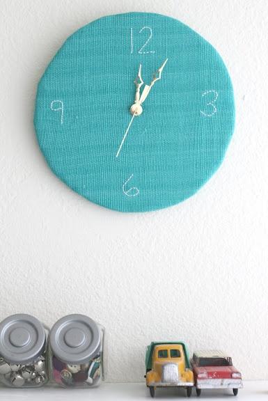 a homemade clock tutorial