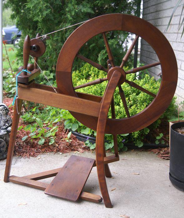 My spinning wheel - an Ashford Traditional...