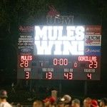 Online Photo Galleries - Mules Football vs Pittsburg State