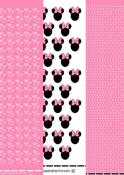 17 best ideas about imagenes de minnie mouse on pinterest for Dibujos para decorar
