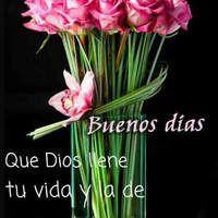 Buenos días. Que Dios llene tu vida y la de muchas bendiciones