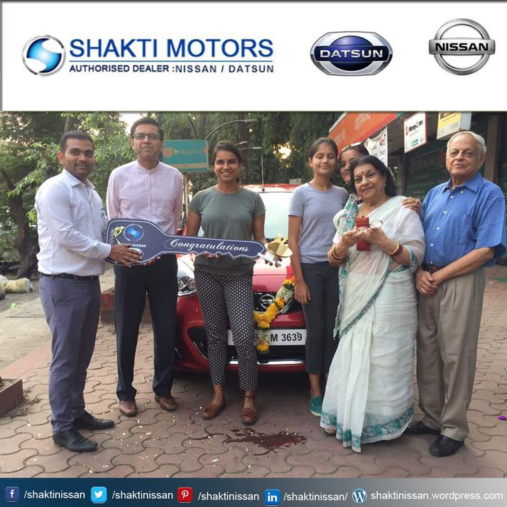 """Our #ProudCustomer Congratulations """"Shashank Tripathi"""" for getting his new #Nissan Car. Know more about Shakti Nissan: http://goo.gl/Cj4lNH  #NissanCarDelivery #NissanCar #Sunny #Terrano #Active"""
