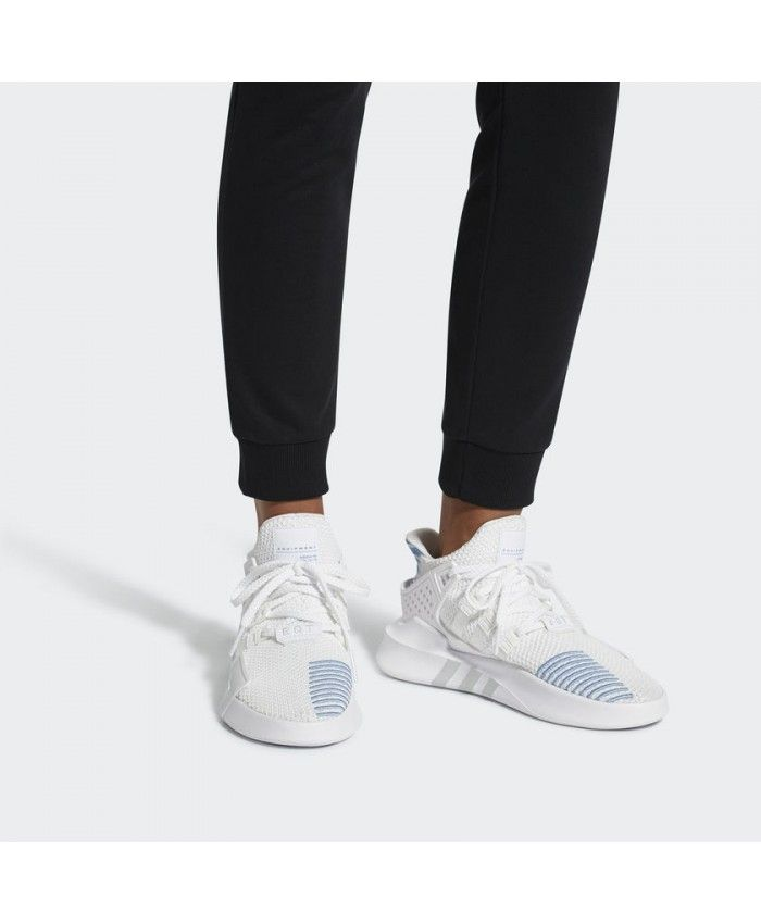 the best attitude 84520 bd8ef Adidas Women Originals Eqt Bask Adv White Shoes