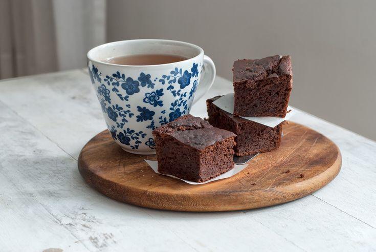 Bezglutenowe brownie z fasoli