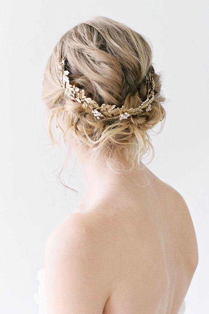 Bridesmaid Updos And#8211; Elegant And Chic Hairstyles ❤ See more: #weddings