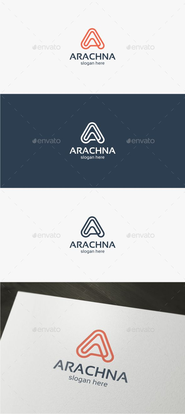 Arachna Letter A  - Logo Design Template Vector #logotype Download it here: http://graphicriver.net/item/arachna-letter-a-logo-template/12607072?s_rank=1777?ref=nexion