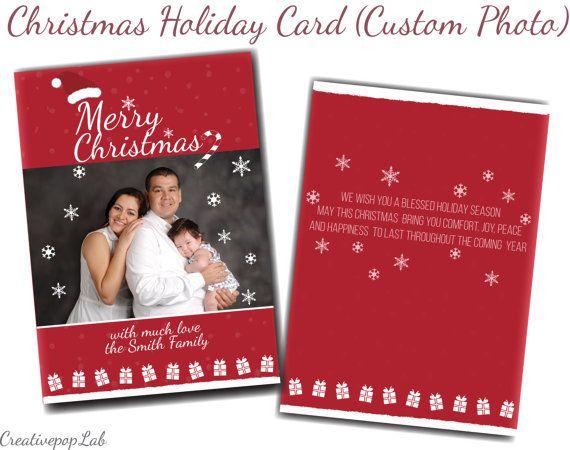 Christmas Card (Custom Photo)