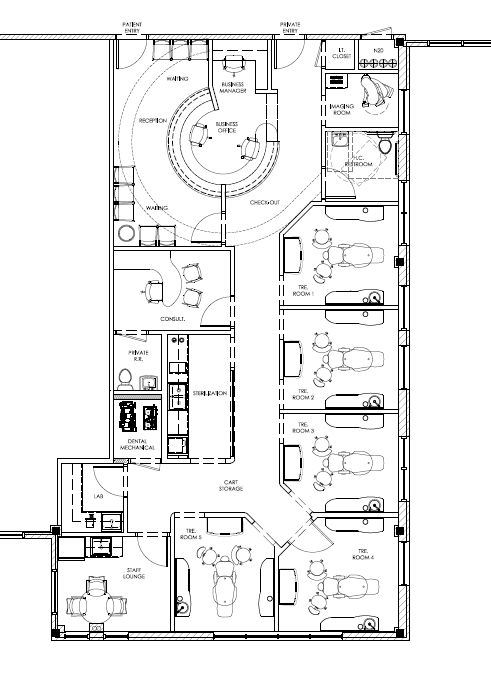 38 best my dental office floor plans images on pinterest floor plans office floor plan and for Orthodontic office design floor plan