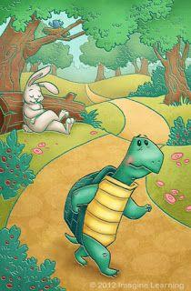 La Fábula de la liebre y la tortuga con moraleja, fábulas para niños.  Una vez en el bosque había una liebre muy vanidosa, que se burlaba de...