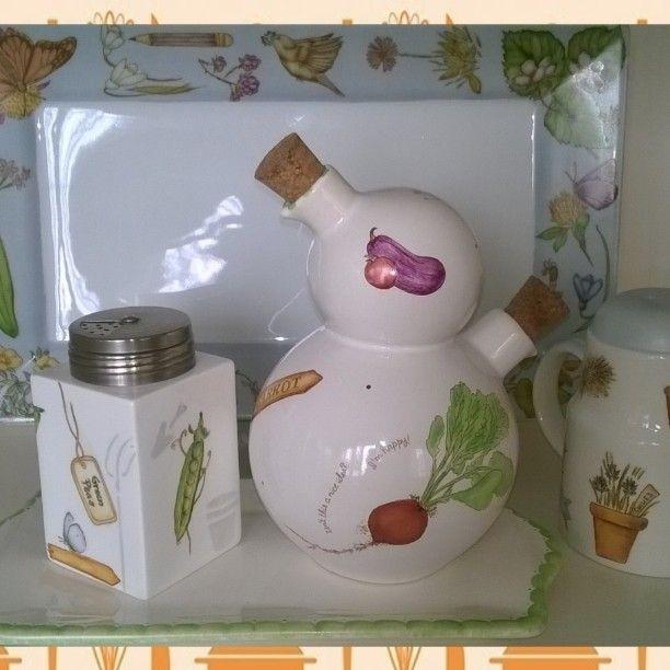 ❤ vajillas diseño Garden ❤ #vajillaparamicocina #my kitchen #pintadoamano#micocina #painting #Porcelana #ceramica #home #deco