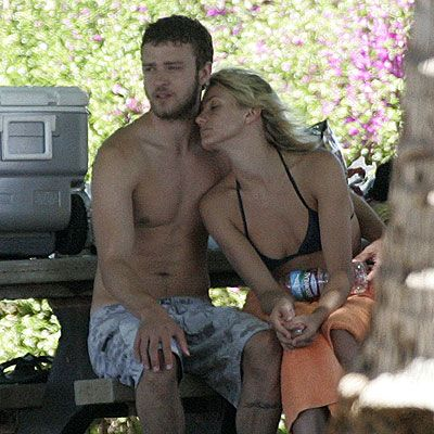 Justin Timberlake Cameron Diaz Beach | Justin and Cameron on vacations in Hawaii