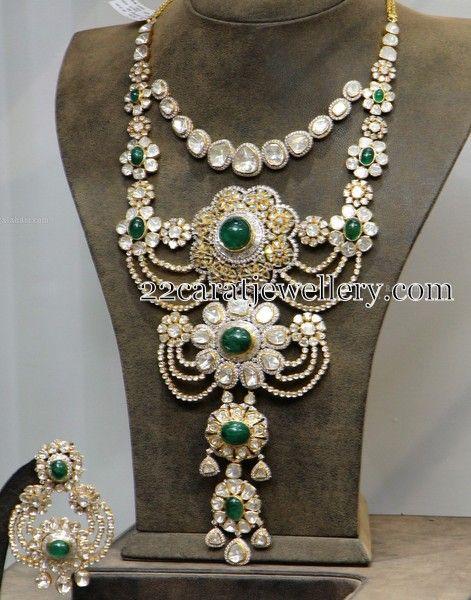 Jewellery Designs: 3 Step Huge Royal Haram
