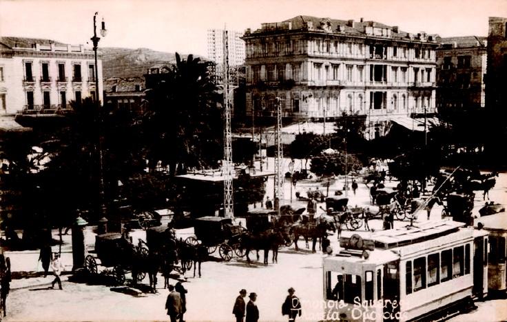 Omonia square, Athens, Greece.