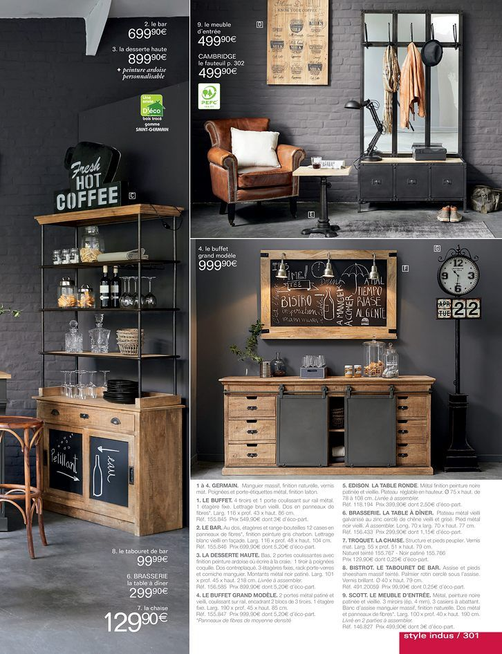 maison du monde tabouret bar stunning from maisons du monde tabouret de bar en noyer et assise. Black Bedroom Furniture Sets. Home Design Ideas