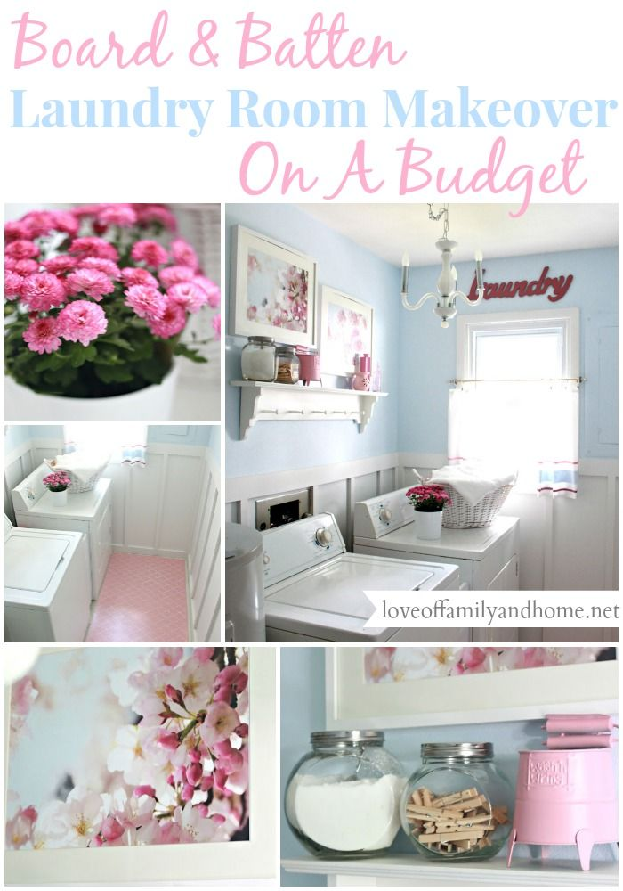 Laundry Room Reveal {Take 2} - Love of Family & Home