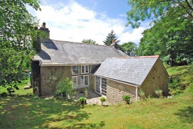 REAR of Cornish Farmhouse