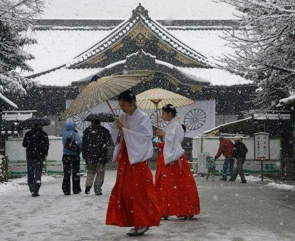 🇯🇵❄️Yasukuni Shrine -Tokyo