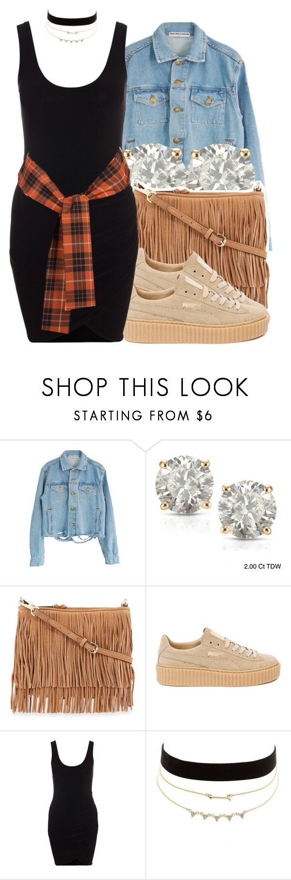 """""""Drank In My Cup x Kirko Bangz 🍁"""" by trinsowavy ❤ liked on Polyvore featuring Auriya, Rebecca Minkoff, Puma, Charlotte Russe and Vivienne Westwood Anglomania"""