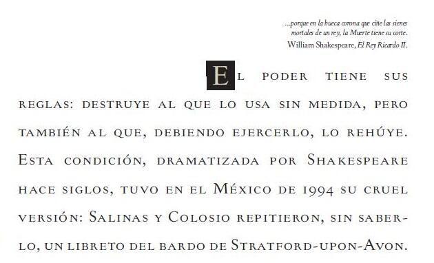 "RT @AristeguiOnline: ""Ante el asesinato de Colosio, Octavio Paz me dijo: 'Esto es Shakespeare puro"".- @EnriqueKrauze pic.twitter.com/9BHIBatgQE"
