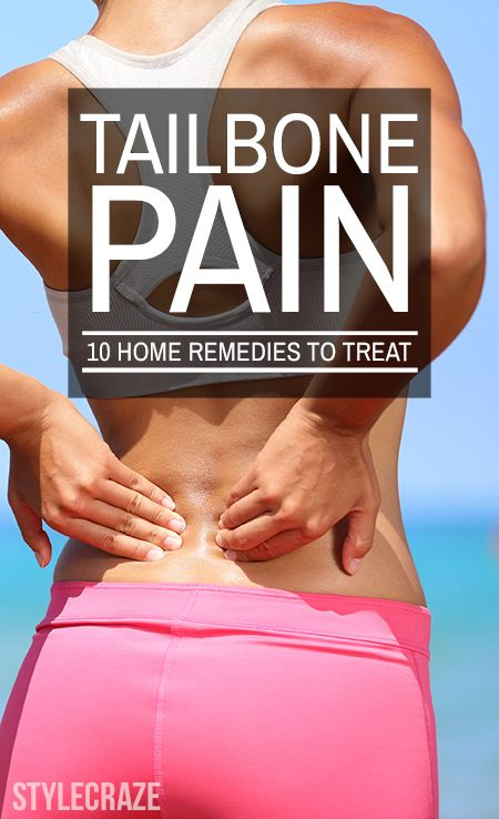 Home Remedies For Tailbone Pain