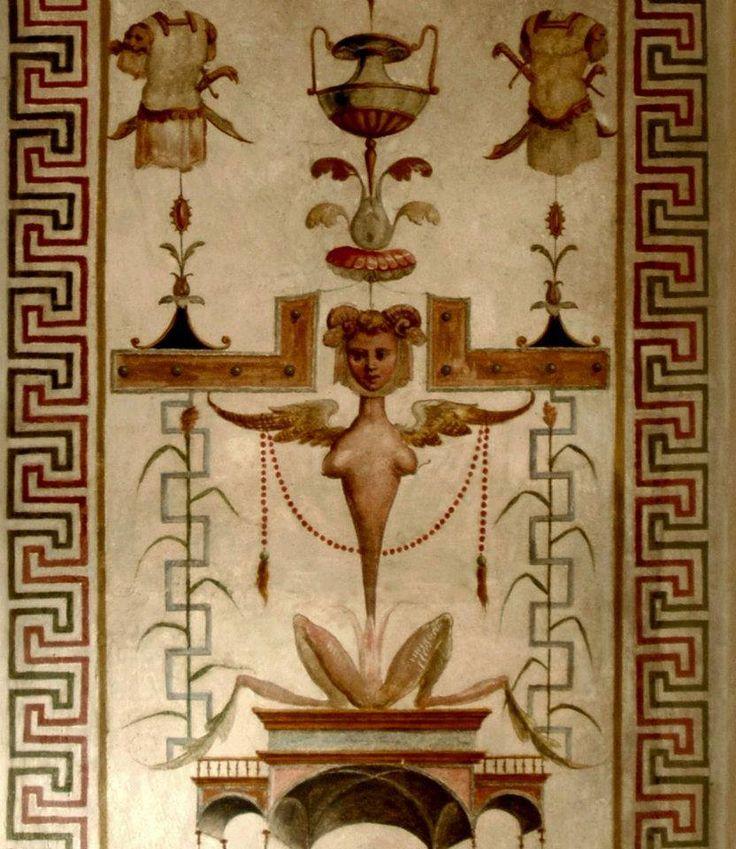 Grottesche sala del Governo, Castello Estense di Ferrara.