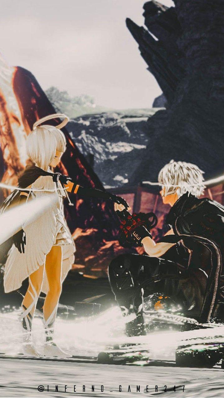 God Eater 3 Protagonist & Phym Videogames, God, Anime
