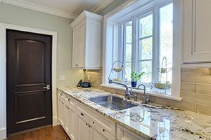 Custom Wood Interior Doors - Classic Solid Wood Custom Interior Door.