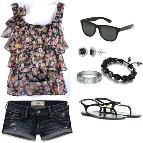 : Shoes, Summer Fashion, Summeroutfit, Shirts, Dream Closet, Cute Summer Outfit, Styles, Shorts, Summer Clothing
