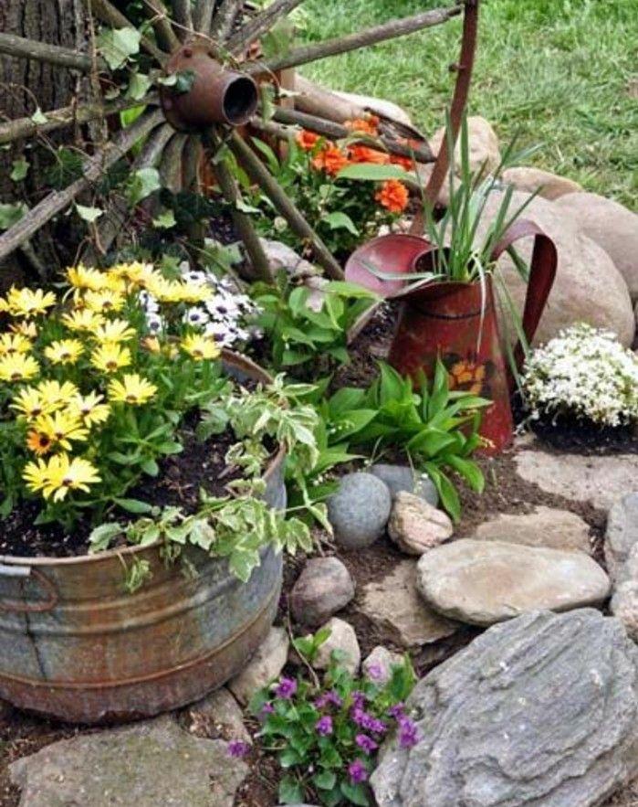 17 meilleures id es propos de lits de fleurs de pierre for Jardin et jardinage