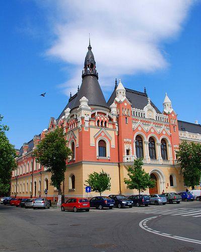 Romania - Oradea, Greek Catholic Bishop Palace www.romaniasfriends.com