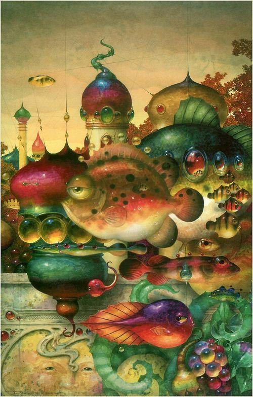 Daniel Merriam fairytale fishies