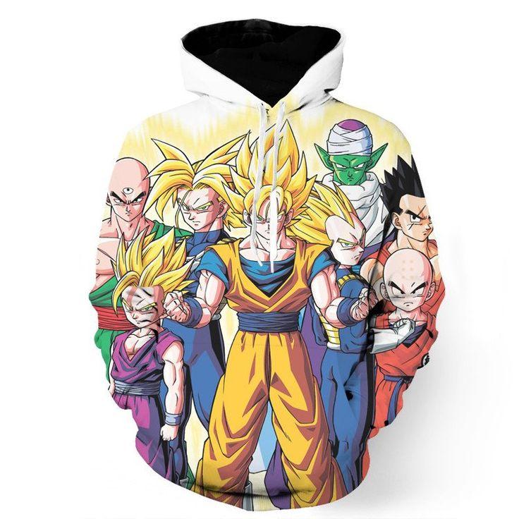 DBZ Goku Vegeta Trunks Super Saiyan Human Heroes Piccolo Namek Hoodie    #DBZ #Goku #Vegeta #Trunks #Super #Saiyan #Human #Heroes #Piccolo #Namek #Hoodie